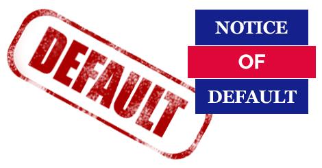 Default Notice