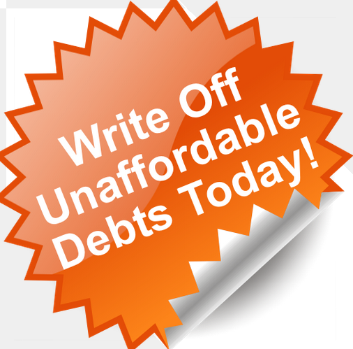 Write off debts image